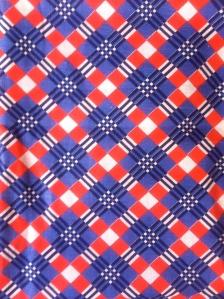 1930s original cotton check pattern