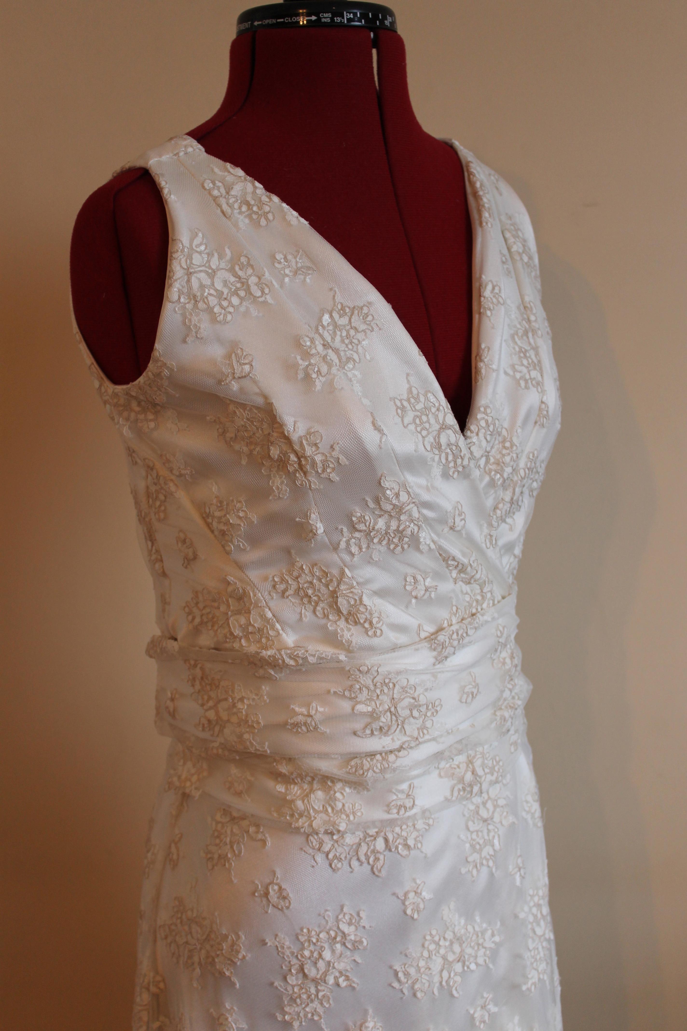 Wrap Around Wedding Dresses 52