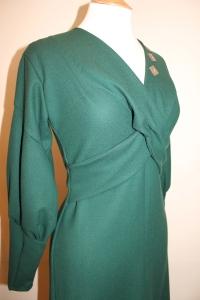 Claudette in green