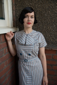Lila-30s bow dress collection