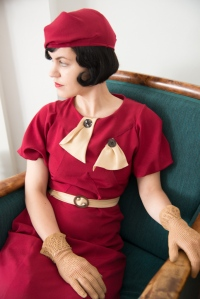Phyllis- 30s bow dress collection
