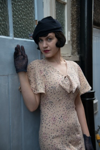 Edith-30s bow dress collection