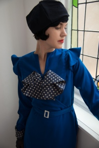 Vivian-1930s bow dress collection