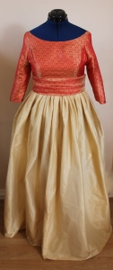 Late 50s ball gown