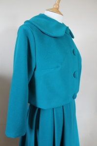 Late 1950s style wool suit