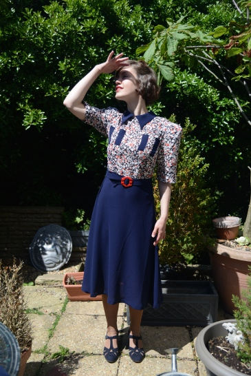 Ava-Wartime girls-early 1940s dress collection