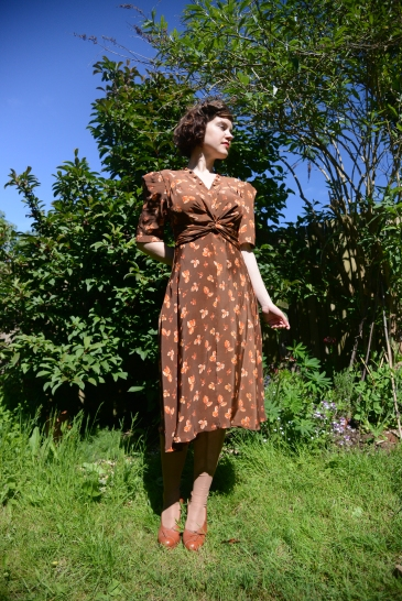 Lettie-Wartime girls-early 1940s dress collection