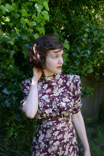 Mildred-Wartime girls- early 1940s dress collection