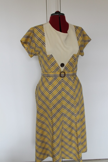 Nettie-early 1930s style dress