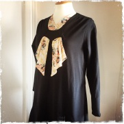 Late 1920s style flapper dress