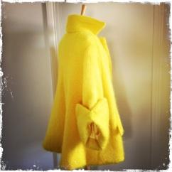 1950s style Suzie Parker swing coat