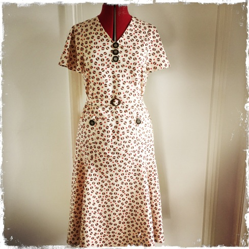 Early 1930s style summer dress
