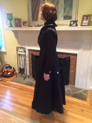Howards End wool coat