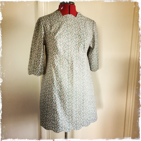 Late 1960s shift dress
