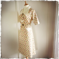 Yvette- early 1930s style day dress