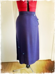 Early 1930s style rayon skirt